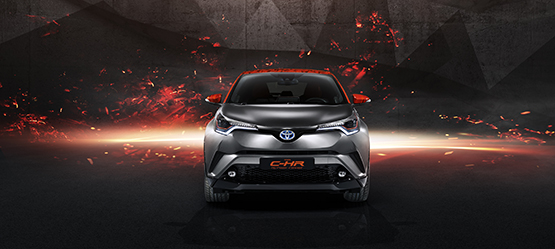 Toyota C-HR Hy–power koncept