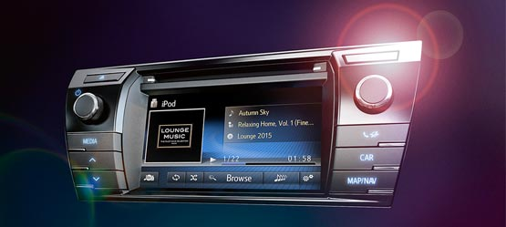 New Toyota Touch® 2 multimedia system