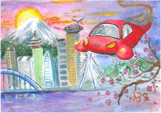 Від дилерського центру Тойота Центр Автосаміт, м. Київ  Петренко Діана,11 років